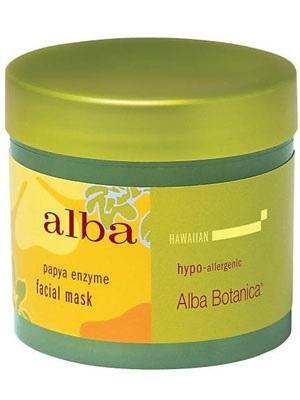 Alba botanica papaya enzyme facial mask review
