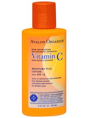 Avalon Org Vit C Spf15 Moistur Free Shipping Over 99